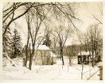 Vail barn at Speedwell , Speedwell Avenue, 02/19/1928, Morristown, NJ