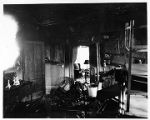 Western Avenue, # 68, interior of  James Appling house after fire, 11/25/1932, Morristown, NJ