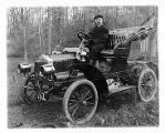 Fred Curtiss in Maxwell automobile, 11/12/1909, Jones Woods, Morristown, NJ