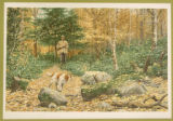 "Print, color chromolithograph,  ""Autumn Grouse Shooting"", from Shooting Pictures, by..."