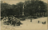 Morristown Green, eastern corner of park, circa 1910, Morristown, NJ