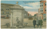 James Park Fountain, looking north towards Speedwell Avenue, early 20th century, post 1907,...