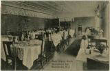 Morristown Inn, interior, main dining room, circa 1910, Morristown, NJ