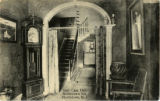 Morristown Inn, interior, stair case hall, circa 1910, Morristown, NJ