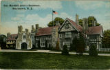 Allen Residence, Convent Station, circa 1920, Morris Township, NJ