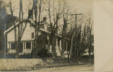 Mount Kemble Avenue, side view of John Doughty home, circa 1900, Morristown, NJ