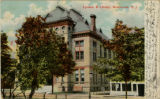 Library and Lyceum, early 20th century, circa 1910, Morristown, NJ