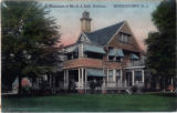 Khadena Road, Mr. E.J. Hall residence, circa 1910, Morristown, NJ
