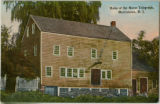 Vail barn, home of the Morse telegraph, circa 1910, Morristown, NJ