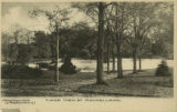 Woodland Ave, Blanchard Estate, Lake Mauneldink,  circa 1910, Morristown, NJ