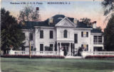Madison Avenue, John O. Pitney residence, circa 1925, Morristown, NJ