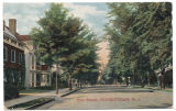 Elm Street, early 20th century, post 1907, Morristown, NJ