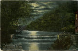 Speedwell Falls and mill, circa 1910, Morristown, NJ