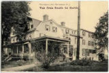 Morristown Inn, view from south to north, circa 1900, Morristown, NJ