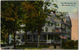 Morristown Inn, side view in color, circa 1900, Morristown, NJ