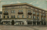 S.B. Carson Co. Dry Goods, corner of Park Place and Speedwell Ave., circa 1910, Morristown, NJ
