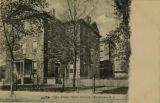 Maple Avenue High School, Maple Ave., circa 1900, Morristown, NJ
