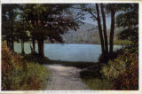 Burnham Park Pond, circa 1930, Morristown, NJ