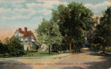 Madison and Jefferson Avenue crossroads, circa 1907, Morristown, NJ