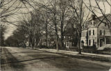 Madison Avenue looking west from Jefferson Ave, circa 1913, Morristown, NJ