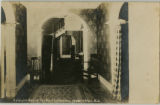 Morristown Inn, interior, colonial hall, circa 1900, Morristown, NJ