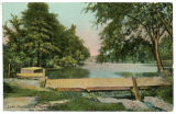 Lake Pocahontas, early 20th century, post 1907, Morristown, NJ
