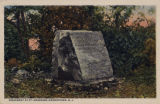 Fort Nonsense monument, circa 1910, Morristown, NJ