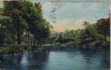 Lake Pocahontas lower end, circa 1908, Morristown, NJ