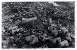 Morristown Green aerial view, circa 1930, Morristown, NJ