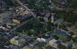 Morristown Green aerial view, 1962, Morristown, NJ