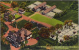 The Seeing Eye, aerial view, circa 1940, Whippany, NJ