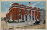 Post Office, Morris Avenue, circa 1916, Morristown, NJ