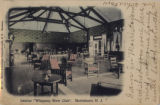 Whippany River Club interior, circa 1910, Morris Township, NJ