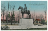 George Washington's monument, early 20th century, post 1907, Morristown, NJ