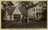 Filling station, circa 1920, Whippany, NJ