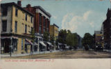 South Street, view looking east, circa 1900, Morristown, NJ