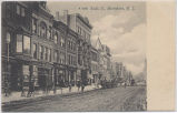South Street looking south, circa 1900, Morristown, NJ