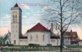 First Presbyterian Church, chapel and parsonage, Park Place, circa 1910, Morristown, NJ