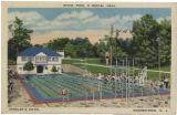 Kessler's Hotel, show pool and social Hall, circa 1930, Morristown, NJ