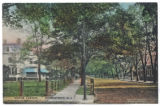 Maple Avenue, early 20th century,  Morristown, NJ