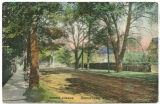 Morris Avenue, early 20th century, post 1907, Morristown, NJ