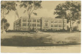 Morristown High School (In process of construction), circa 1915, Morristown, NJ
