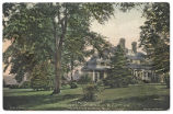 "Cutler residence, ""Khadena"",  Residence of Mrs. C.F. Cutler, early 20th century, post..."
