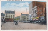 Park Place North, looking towards Washington Street,  early 20th Century  post 1907, Morristown, NJ