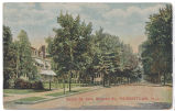 South Street from Miller Road, sent 1910, Morristown, NJ