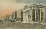 South Street, looking north, late 19th or early 20th century, Morristown, NJ