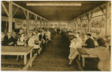 Basket Pavillion at Bertrand Island Park, Interior, circa 1920, Lake Hopatcong, NJ