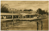 Boardwalk at Bertrand Island Park, circa 1920, Lake Hopatcong, NJ