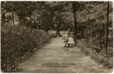 Lake View Hotel, path to lake, circa 1900,  Lake Hopatcong, NJ