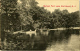Burnham Pond, circa 1900, Morristown, NJ
